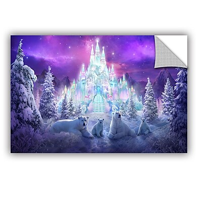 ArtWall 'Winter Wonderland' Art Appeelz Removable Wall Art Graphic 24