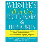 Merriam Webster Dictionary and Thesaurus, Hardcover (AVT-FSP0467)