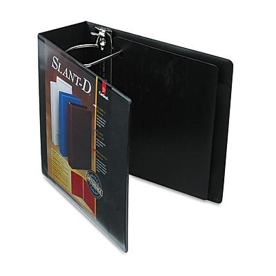 Cardinal® SuperStrength™ ClearVue™ Locking Slant-D® Ring Binder, 11 x 8 1/2, View Binders, Each (10801)
