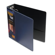 Cardinal® Spine Vue® Locking Round Ring Binder, 11 x 8 1/2, View Binders, Each (16902)