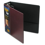 Cardinal® Spine Vue® Locking Round Ring Binder, 11 x 8 1/2, View Binders, Each (16958)
