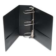 """Samsill DXL/Contour Cover Heavy Duty 4"""" 3-Ring View Binder, Black (17790)"""