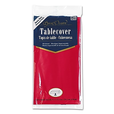 Creative Converting Plastic Tablecovers, 54