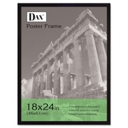 DAX® Flat Face Poster Frame, Wood, 18 x 24, Black, Each (2860W2X)