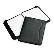 Day-Timer® Avalon Simulated Leather Starter Set, Zipper Closure, 8 1/2 x 11, Leatherlike Vinyl, Black (D82831E)
