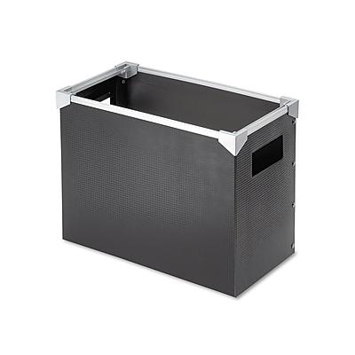 Pendaflex Poly Desktop Storage Box, Letter Size, Black
