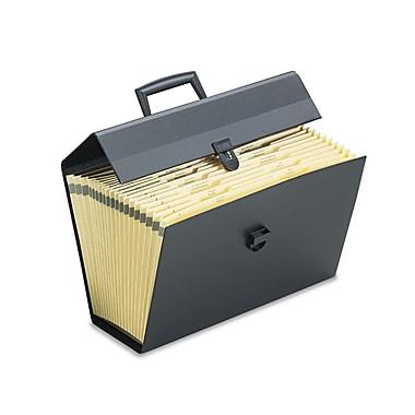 Pendaflex Portafile™ Letter/Legal Expanding Organizer, Black, Each (01156)