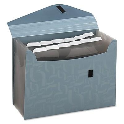 Pendaflex® Essentials Expanding Poly Files, Blue, Letter, Each (01163)