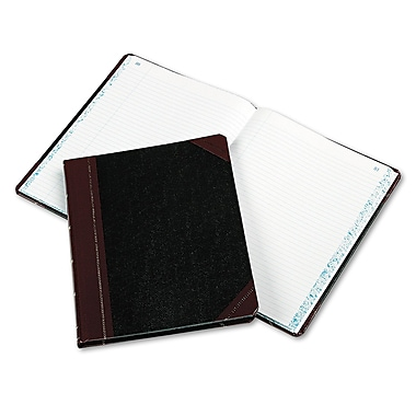 Boorum & Pease Extra-Durable Bound Book, Columnar Accounting, 8.25