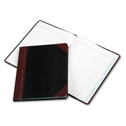 "Boorum & Pease® Journal with Black and Red Cover, Journal, 7.6"" x 9.6"", Black/Red (38-150-J)"