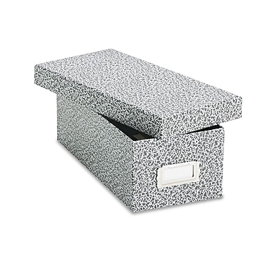 Oxford Reinforced Board Card File with Lift-Off Cover, 3
