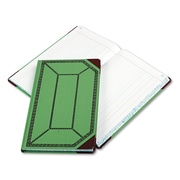 "Boorum & Pease Journal with Green and Red Cover, Journal, 7.7"" x 12.4"", Green/Red (67 1/8-300-J)"