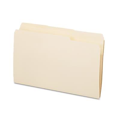 Pendaflex® Essentials™ Manila File Folders, Legal, Manila, 100/Box (753-1/3)