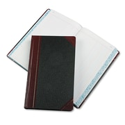 "Boorum & Pease Journal with Black and Red Cover, Journal, 8.7"" x 14.1"", Black/Red (9-500-J)"