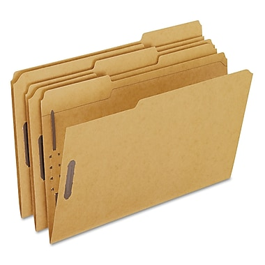 Pendaflex Kraft Folders with Fasteners, Legal, Brown, 50/Box (FK312)
