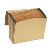 Pendaflex® Essentials™ Kraft Indexed Expanding File, Brown, Letter (K17DOX)