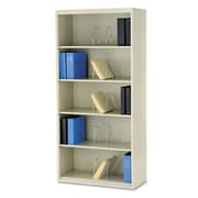 "HON® Brigade® 600 Series Jumbo Open Shelf Files, 36"" x 16 3/4"" x 75 7/8"", Putty, Each (J625CNL)"