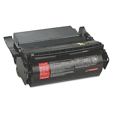 Lexmark™ 1382625 High-Yield Toner, 17600 Page-Yield, Black