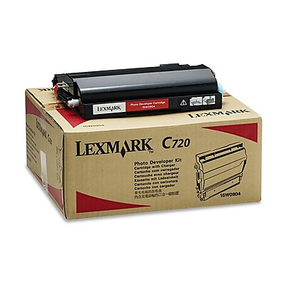 Lexmark™ 15W0904 Photodeveloper Cartridge, 40000 Page-Yield, Black