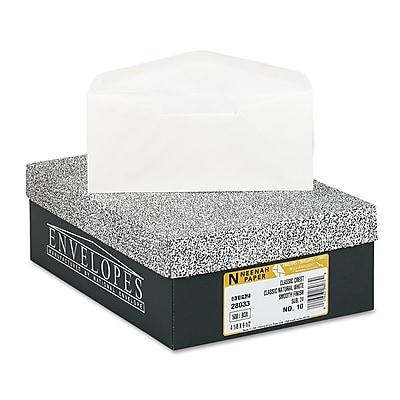 Neenah Paper CLASSIC CREST® #10 Envelope, Classic Natural White, 4 1/8 x 9 1/2500/Box (2803300)
