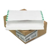 Quality Park™ Open Side Expansion Mailers Made with Tyvek®, White, 10 x 15100/Carton (R4460)
