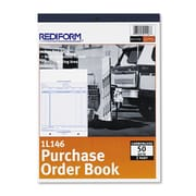 Rediform Purchase Order Book, 8 1/2 x 11, Each (1L146) by