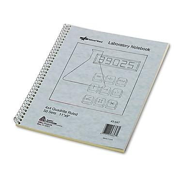 National® Duplicate Laboratory Notebooks, Gray, 11 x 9, Each (43647)