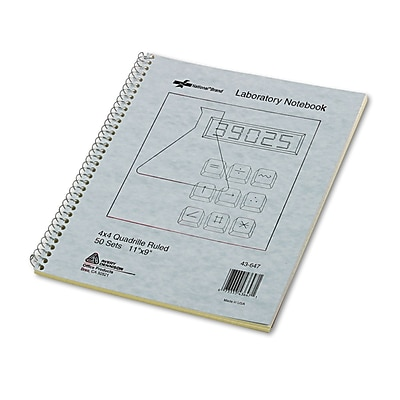 Avery Wirebound Laboratory Notebook, 8 1/2