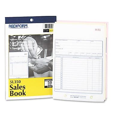 Rediform® Sales Book, 5 1/2 x 7 7/8, Each (5L350)
