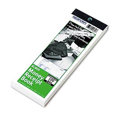 Rediform® Receipt Book, 2 3/4 x 7, Each (8L800)