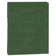 Blueline EcoLogix NotePro™ Executive Notebook, Green, 9 1/4 x 7 1/4, Each (A7150EGRN)