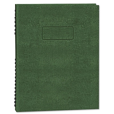 Rediform Executive Wirebound Notebook, College/Margin Ruled, 9 1/4