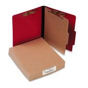 ACCO ColorLife® PRESSTEX® Classification Folders, Top Tab, Executive Red, 10/Box (A7015649)