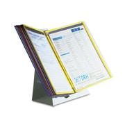 Tarifold, Inc. Desktop Reference Starter Set with Display Pockets, Metal, Each (D291)