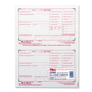 TOPS™ W-2 Tax Form, 50/Pack (22990)