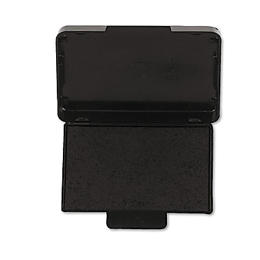 Identity Group Replacement Ink Pad for Trodat Self-Inking Custom Dater, Black, Each (5096)