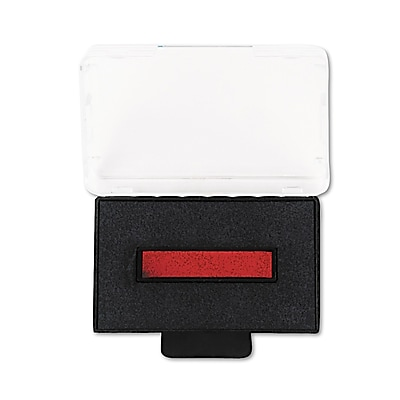 Identity Group Replacement Ink Pad for Trodat Self-Inking Custom Dater, Blue/Red, 1 1/8