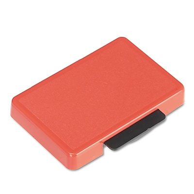 Identity Group Replacement Ink Pad for Trodat Self-Inking Custom Dater, Red, Each (5097)