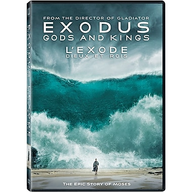 Exodus: Gods and Kings (L'exode : Dieux et rois), DVD