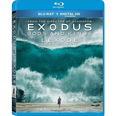 Exodus: Gods and Kings (L'exode : Dieux et rois), Blu-ray