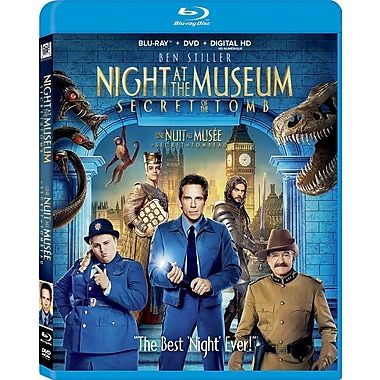 Night At the Museum: Secret of the Tomb (Blu-Ray/DVD) (anglais)