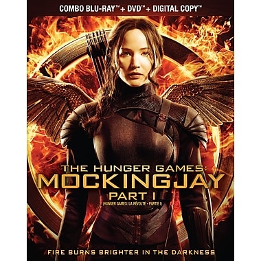 The Hunger Games: Mockingjay Part 1 (Blu-Ray/DVD) (anglais)