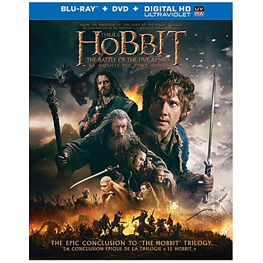 The Hobbit: The Battle of the Five Armies (Blu-Ray/DVD)