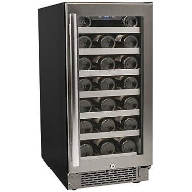 Avallon AWC300SZ 15 inch 7 Sections Wine Cooler, 30 Bottles