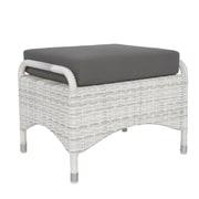 David Francis Furniture Newport Ottoman w/ Cushion; Macaw
