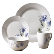 Tabletops Gallery Wildflower 16 Piece Dinnerware Set, Service for 4