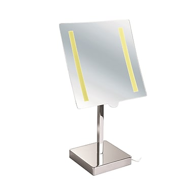 UCore LED Table Magnifying Plug in Mirror