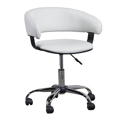 Wildon Home Sebring Desk Chair; White