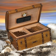 Quality Importers Humidor Supreme Gold Rush Box