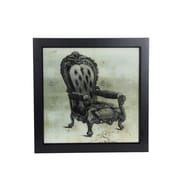 Privilege Vintage Chair Framed Painting Print